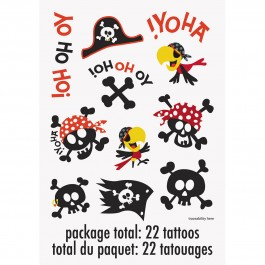 Pirate Fun Color Tattoos (2)