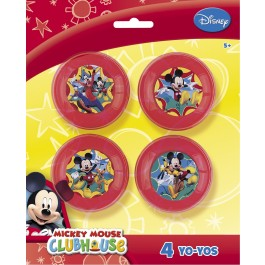 Mickey Mouse Yo-Yos (6)