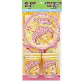 Pretty Princess Party Pack for 8 (1)