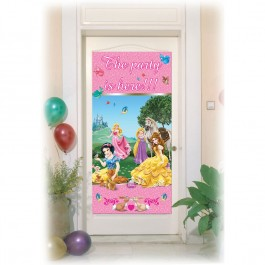 Princess & Animals Door Poster (1)
