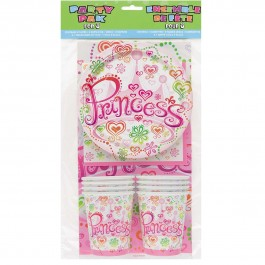 Princess Diva Party Pack For 8 (1)