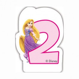 Disney Princess Birthday Number 2 Candle (1)
