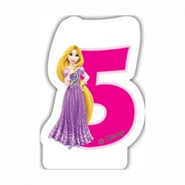 Disney Princess Birthday Number 5 Candle (1)