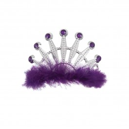 Purple Bling Tiara (1)