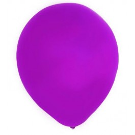 Purple Latex Balloons (100)