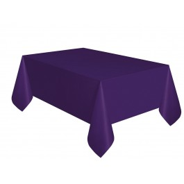 Purple Plastic Tablecover (1)
