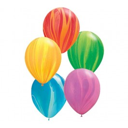 "11"" Rainbow Superagate Assorted Balloons (1)"