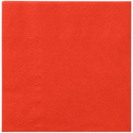 Red Orange Beverage Napkins (20)