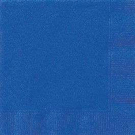 Royal Blue Lunch Napkins (20)