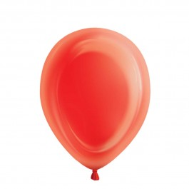 Ruby Red Light-Up Balloons (5)