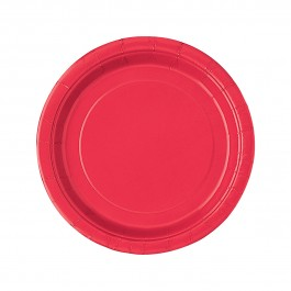 Ruby Red Lunch Plates (16)