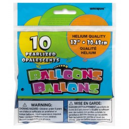 Sapphire Blue Latex Balloons (10)