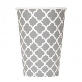 Silver Quatrefoil Cups (6)