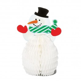Snowman Mini Honeycomb (4)