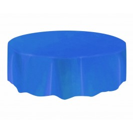 Royal Blue Round Table Cover (1)