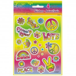 Tye-Dye Swirl Sticker Sheets (4)