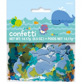 Under The Sea Pals Printed Foil Confetti (1)