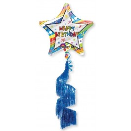 "70"" Wavy Birthday Shag Tail Airwalker (1)"