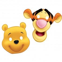 Disney Winnie Die-Cut Paper Masks (6)