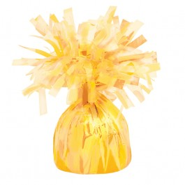 Yellow Foil Balloon Weight (1)