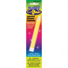 "Yellow Glow Lightstick 6"" (1)"