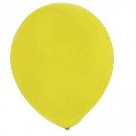 Yellow Latex Balloons (100)