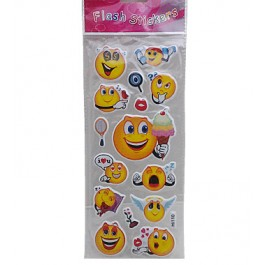 Yellow Smiley Stickers (1)